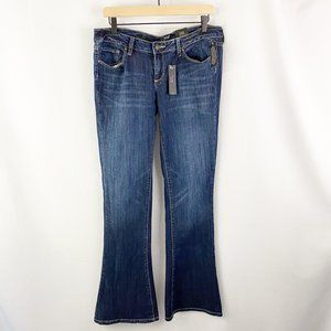 A.n.a. Flare Lower Rise Jeans Blue Size 10
